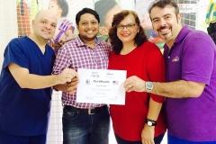 Certification from Right side Leonardo, Fezia , Kanu , Braz