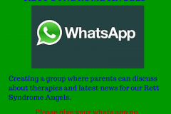 rett-syndrome whats app group