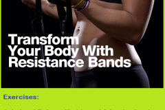 Exercises with resistance band